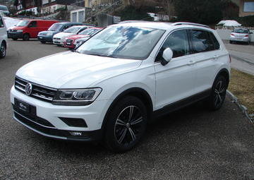 VW New Tiguan 2.0 TSI R-Line 4 Motion DSG 190 PS